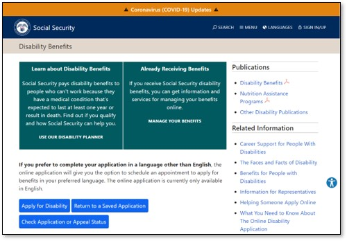 Social Security Disability Site